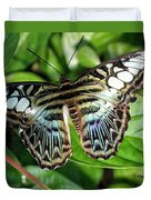 Blue Sea Butterfly Duvet Cover