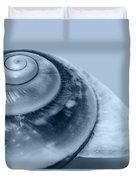 Blue Shell Duvet Cover