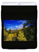 Blue Skies In Colorado Duvet Cover