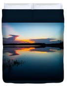 Blue Sky And Water Duvet Cover