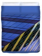 Blue Sky Horizontal  Duvet Cover