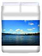 Beautiful English View Duvet Cover