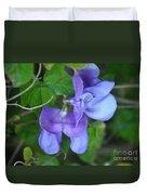 Blue Snail Vine Twins Duvet Cover