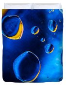 Blue Space Ice Duvet Cover