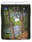 Blue Spring Branch 2 Duvet Cover