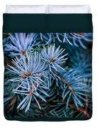 Blue Spruce Duvet Cover