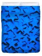 Blue Stars Duvet Cover