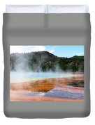 Blue Steam Duvet Cover