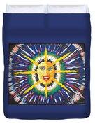 Blue Sun Duvet Cover