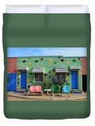 Blue Swallow Motel In Tucumcari In New Mexico Duvet Cover