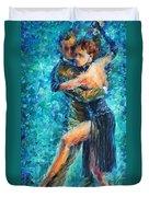 Blue Tango 2 Duvet Cover