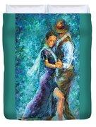 Blue Tango 3 Duvet Cover