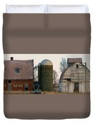 Blue Tear Farm Duvet Cover