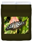 Blue Tiger Butterfly Duvet Cover
