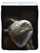 Blue Tongue Lizard Duvet Cover