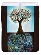 Blue Tree Duvet Cover
