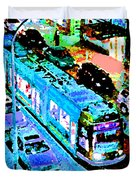 Blue Trolley Portland Duvet Cover