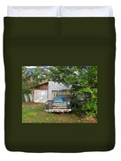 Blue Truck  Duvet Cover