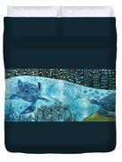 Blue Turtles Duvet Cover