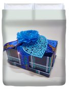 Blue Valentine Duvet Cover