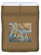 Blue Water Dancing  Duvet Cover