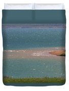 Blue Water Wilson Lake Duvet Cover