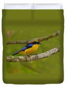 Blue-winged Mountain Tanager Duvet Cover