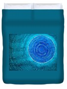 Blue World Original Painting Duvet Cover