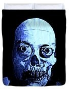 Blue Zombie Duvet Cover