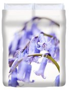 Bluebell Abstract II Duvet Cover