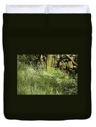 Bluebells And Greater Stitchwort Spring  Boot Eskdale Cumbria England Duvet Cover
