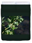 Blueberry Branch Duvet Cover