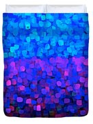Blueberry Passion Fruit Duvet Cover