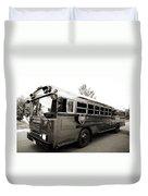 Bluebird Bus Limo 2 Duvet Cover