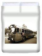 Bluebird Bus Limo 3 Duvet Cover
