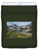 Bluebird Lake - Colorado Duvet Cover