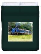 Bluebird Train Duvet Cover