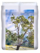 Bluebird Tree Duvet Cover