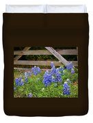 Bluebonnet Gate Duvet Cover