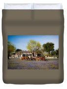 Bluebonnet Heaven Duvet Cover