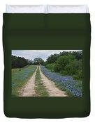 Bluebonnet Trail Duvet Cover