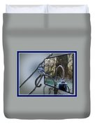Bluejay Oob - Featured In 'out Of Frame' And Comfortable Art Groups Duvet Cover