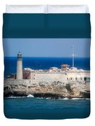 Blues Of Cuba Duvet Cover