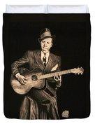 Blues Originator  Duvet Cover