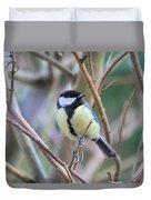 Bluetit Duvet Cover