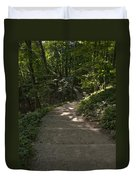 Bluff Trail  Duvet Cover