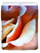 Blush Pink Palm Springs Duvet Cover