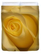 Blushing Cream Rose 3 Duvet Cover