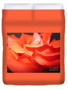 Blushing Orange Rose 6 Duvet Cover
