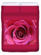 Blushing Pink Rose 3 Duvet Cover